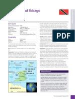 Trinidad and Tobago Country Profile