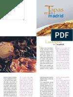 Tapas de Madrid