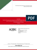 Reseña de -El proceso de la civilización en la sociología de Norbert Elias- de Alejandro N. García M