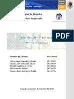 proyecto desarrollo sustentable