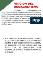 1ra Clase Diapositiva.- Ley de Coulumb