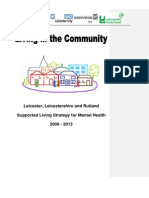 Supported Living Strategy for Mental Health
