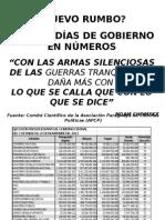 EL NUEVO RUMBO EN NÚMEROS - APCP