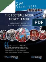 TV Sports Markets - Football Media Money League