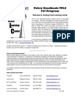 TPLC f2f HandbookPolicies 09-10