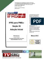 Adoção Inicial - Contabilidade para PMEs