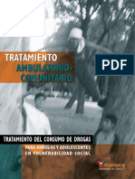 Tratamiento ambulatorio comunitario
