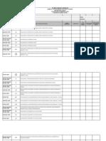 Lista de Chequeo Auditorias Internas