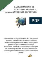 LISTA de Actualizaciones de Controladores PARA MEJORAR EL (2)