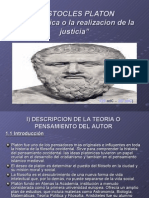 aristoteles y  platon  - power point