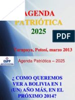 Agenda Estratyugica Del Bicentenario 2025