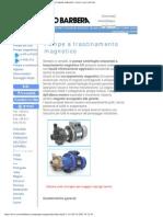 Pompe a Trascinamento Magnetico Savino Barbera Per Liquidi Radioattivi, Toss