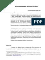 ARTIGO DE OPINIÃO  ESTUDOS SOBRE UM GÊNERO DISCURSIVO1