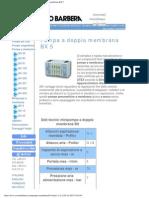 Savino Barbera, Minipompe Pneumatiche a Doppia Membrana BX 5