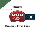 POD Farm Recording Setup Guide ( Rev a )
