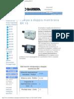 Savino Barbera, Minipompe Pneumatiche a Doppia Membrana BX 15