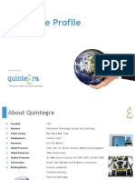 Quintegra Corporate Presentation