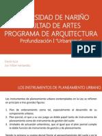 Presentacion Instrumentos de Planeacion1
