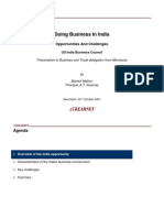 Doing Business in India - US-India Business Council