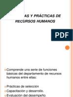 Presentación de practicas de RH
