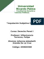 Monografia de Imputacion Subjetiva