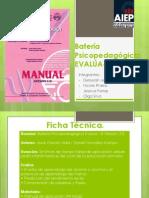 Batería Psicopedagógica EvalÚa-0 Lenguaje - Escritura
