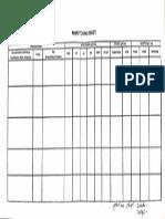 Monitoring Sheet Headnursing Form