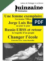 Quinzaine littéraire 956