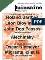 Quinzaine littéraire 960