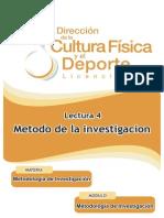 04 Lectura Metodo de Investigacion