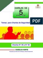 Charlas  Nø 26 a  Nø 50