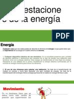 Manifestaciones de la energía