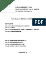 Apostila teorica de química 2007