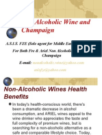 Non Alcoholic Wine and Champaign