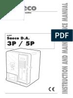 Saeco Topazio User Manual English