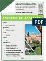 Informe de Ayacucho