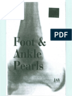 Foot & Ankle Pearls