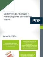Epidemiologia Fisiologia y Terminologia Del Edentulismo Parcial