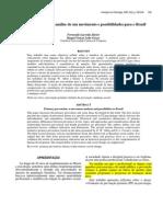 2005. JÚNIOR & GUZZO. Prevenção primária - análise de um movimento e possibilidades para o Brasil