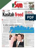 thesun 2009-08-13 page01 kasitah freed