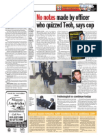 thesun 2009-08-13 page04 no notes made by officer who quizzed teoh says cop