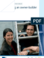 Being an Owner-Builder