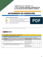 Instrumento Supervision 2013 Dgspminsa