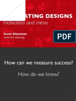 Slides PDF HCI 01 3 EvaluatingDesigns