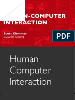 Slides PDF HCI 01 1 HumanComputerInteraction