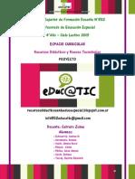 Proyecto Feria de Ciencias Para La Instancia NACIONAL