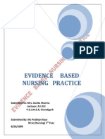 Evidence Based Practice Final