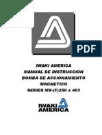 MANUAL DE BOMBAS CON SELLO MAGNETICO EN ESPAÑOL