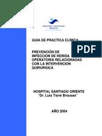 Guía prevención de infecciones quirúrgicas layout
