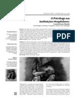 Artigo 6. O Psicólogo na Instituição Hospitalar